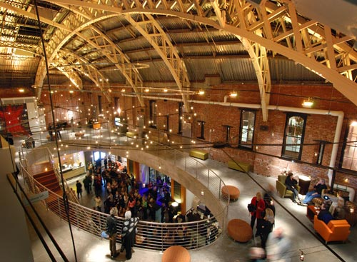 Portland Armory – Gerding Theater lobby