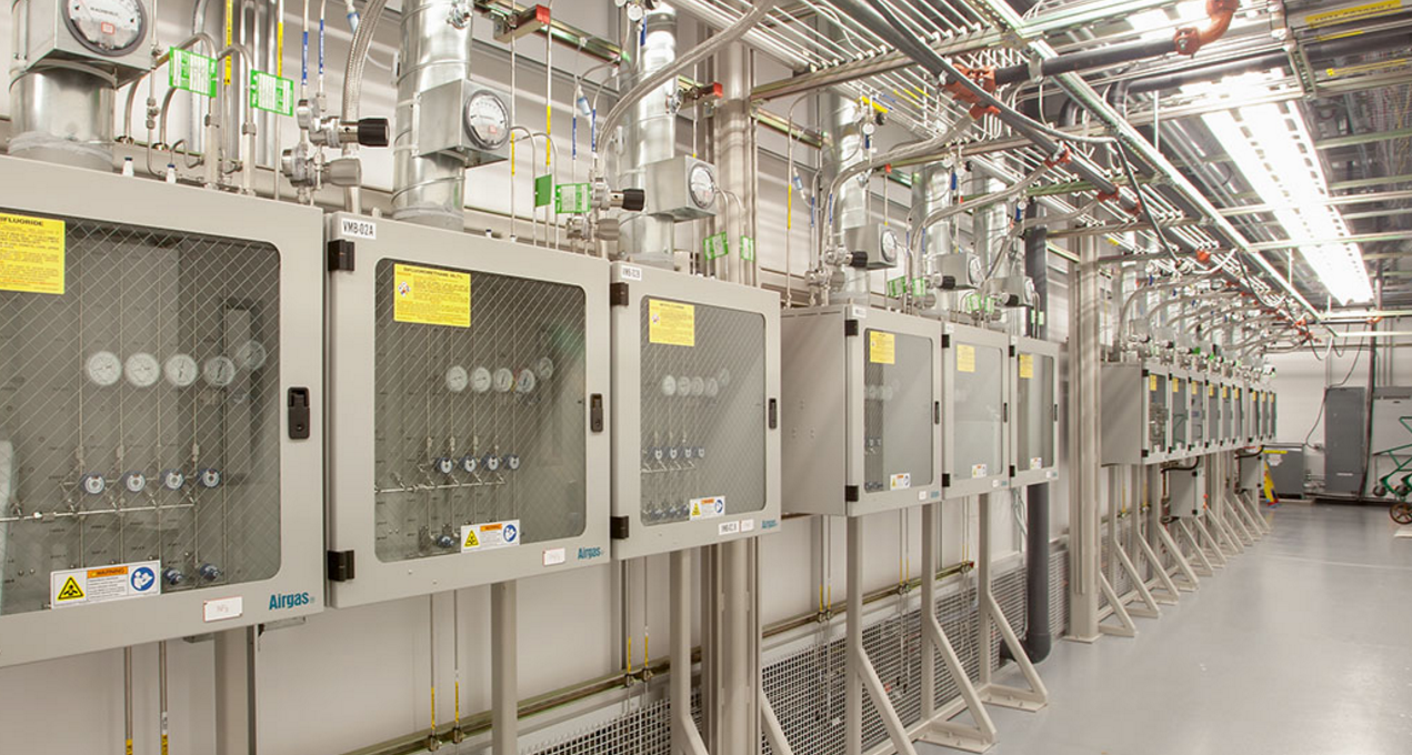 Hitachi Demonstration Lab interior