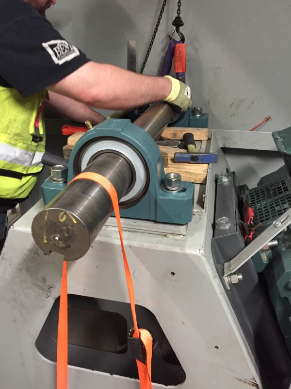 Shaft Bearing Replacement