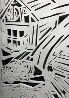 Custom lasercut artwork