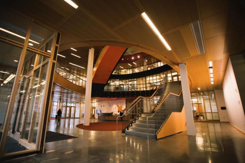 OSU Student Center staircase