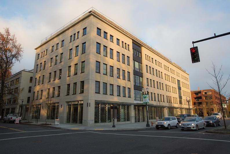 University of Oregon Alumni MBA building exterior