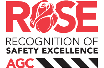 ROSE Recognition of Safety Excellence AGC logo